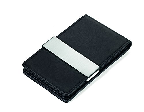 Troika Black Flat Wallet with RIFD Protection (CCC1539LE)