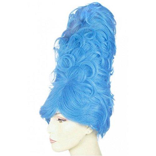 Beehive Blue Wig (Giant Beehive Wig)