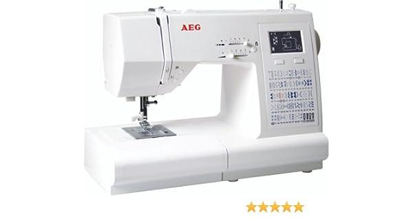 Unbekannt AEG NM 910 máquina de Coser electrónica: Amazon.es: Hogar