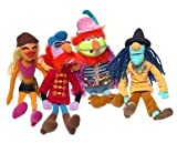 Jim Henson Muppets Electric Mayhem Plush Set with Zoot, Janice, Floyd and Dr. Teeth