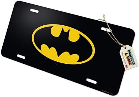 Graphics and More Batman Bat Kid Shield Logo Novelty Metal Vanity Tag License Plate