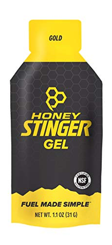 (Honey Stinger Classic Energy Gel, Gold, Sports Nutrition, 1.2 Ounce (Pack of 24))
