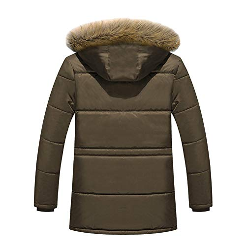 e e e di Militare Caldo Fit Cappotto Caffè Inverno Inverno Inverno Inverno Uomini Inverno tattico Spessore Cappotto Yesmile di Slim Carico Autunno Casuale Giacca Cappotto IgYAwqwx5