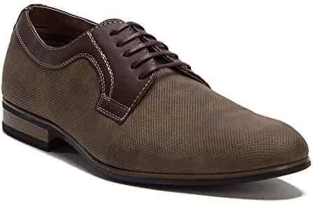 Ferro Aldo Men s 19380DL Perforated Leather Lined Lace Up Oxford Dress Shoes 1a1e7b94fb8