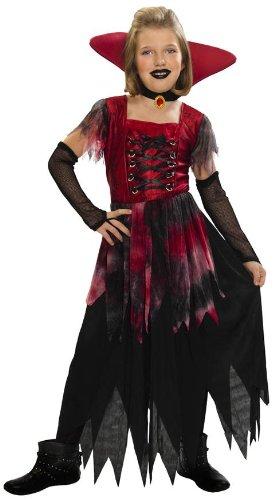 Disfraz Vampiresa Gótica - 7-9 años: Amazon.es: Ropa y accesorios