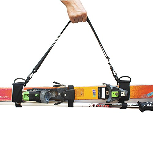 ONE Picece Adjustable Ski Shoulder Carrier Ski Shoulder Lash Handle Straps the Shoulder Strap Is Also a Boot Strap