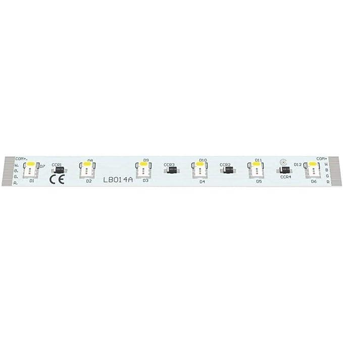 LED-BOARD 24VDC 100X10MM RGB 6-6 LEDS: Amazon.es: Alimentación y ...