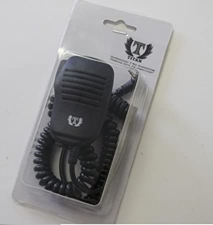 Speaker microphone black for Spirit GT GT+; Talkabout fr50 53724 Motorola
