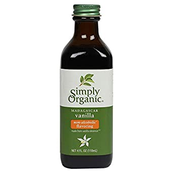 Simply Organic Vanilla Flavoring (non-alcoholic), Certified Organic | 4 oz
