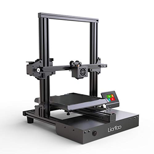 Liantao 3D Printers DIY Aluminum Printing Machine with Multiple Languages and UL Certified Power Supply Metal Printer Kit 220x220x240mm for Home and School Use
