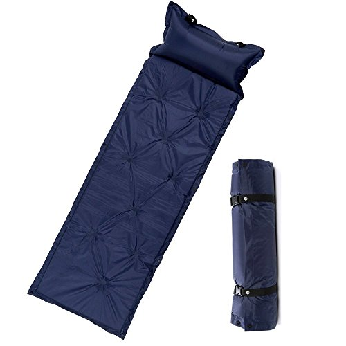 7Leon-Waterproof-190T-Polyester-Outdoor-Sleeping-Pad-Self-Inflating-Quick-Valve-Camping-Mat-with-Attached-Inflatable-Pillow-and-Bag