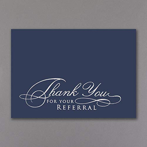775pk Thank You For Your Referral Card-Thank You Cards