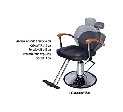 SILLON MAQUILLAJE RECLINABLE RF.2975/58 BLANCO: Amazon.es ...