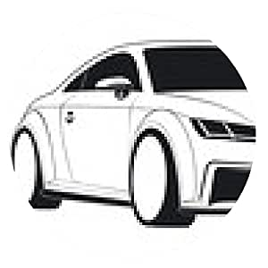 alfombrilla de ratón coche deportivo TT Coupe - ronda - 20cm