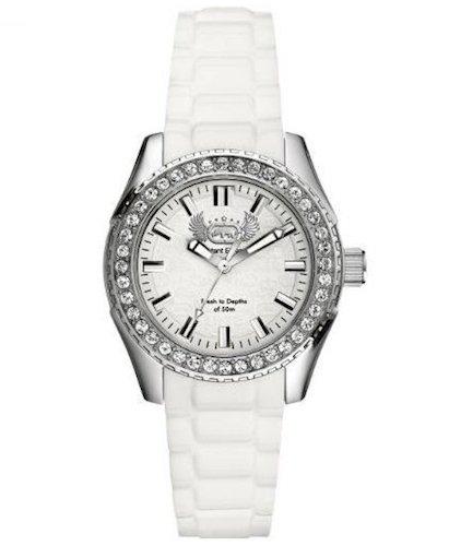 Marc Ecko Reloj Análogo clásico para Mujer de Cuarzo con Correa en Silicona E11599M2: Amazon.es: Relojes