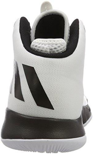 Threat Bianco Basket Scarpe Uomo 000 da Ftwbla Dual adidas Negbas Ftwbla 2017 fnq1Sw5xZ4