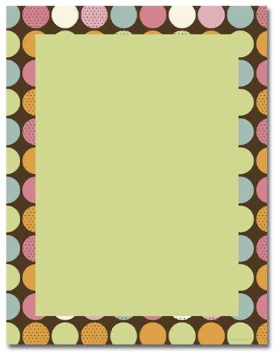 (Image Shop ALH3845 Choco Dots Letterhead)