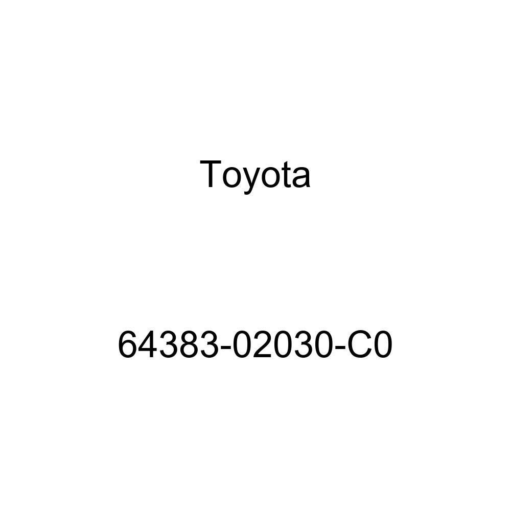 Toyota 64383-02030-C0 Speaker Grille Sub Assembly