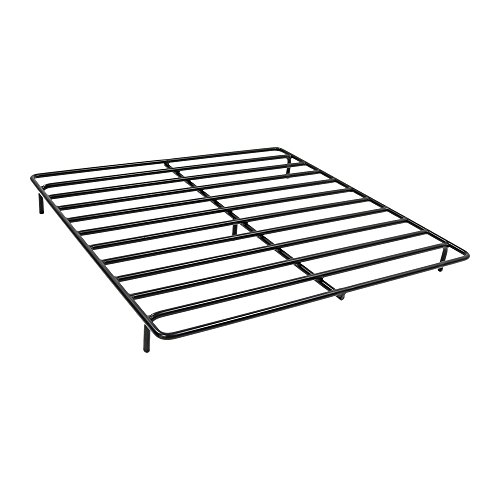 Sunnydaze Square Steel Outdoor Fire Pit Wood Grate, 30 Inches Square x 3 Inches