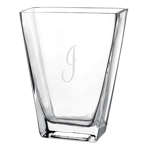 Cathy's Concepts Personalized Friendship Vase, Monogrammed Letter I (Cathy Vase)