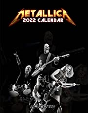 METALLICA Calendar 2022: Heavy Metal Band Monthly Photo Poster Planner | For Home Office Decor
