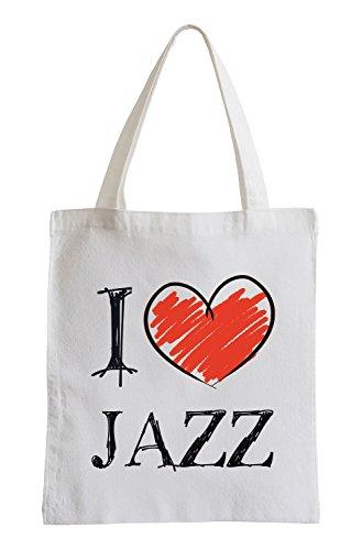 Amo Jazz Fun sacchetto di iuta Venta Barata Comercializable Aclaramiento Mejor Tienda A Comprar HE5AjvPU