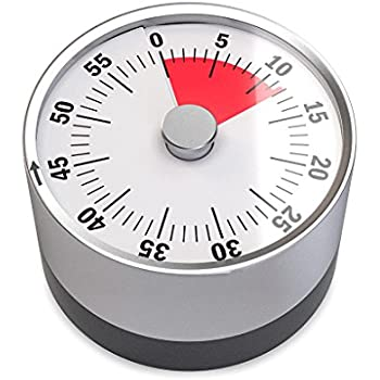 Amazon Com Balvi Basics Mechanical And Magnetic Timer