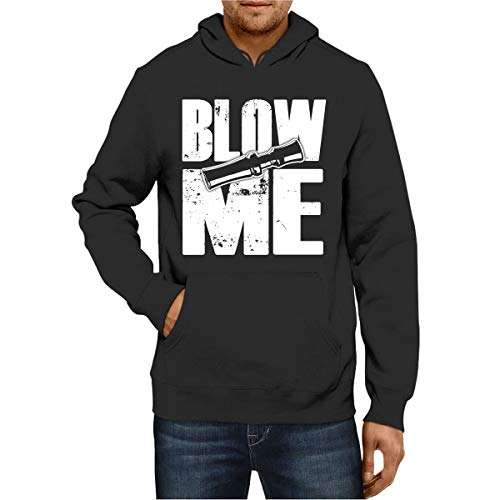 z-candy Hunting Hoodie Duck Hunting Blow Me Back Men Funny Women