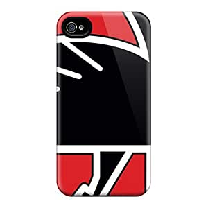 Anti-Scratch Hard Phone Cases For Iphone 5C (mUd17380krqk) Provide Private Custom High Resolution Atlanta Falcons Skin