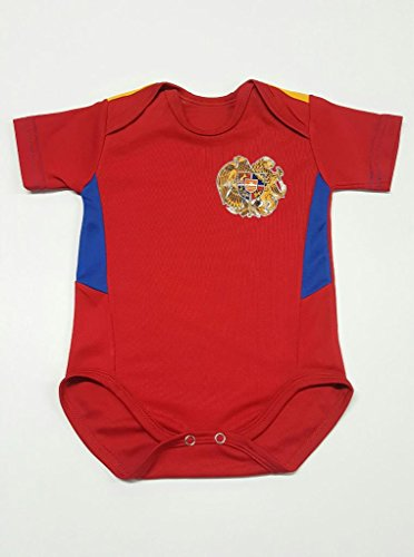 Armenia Soccer National Team Home Jersey Baby Onesies 9-12 months by Team Sports