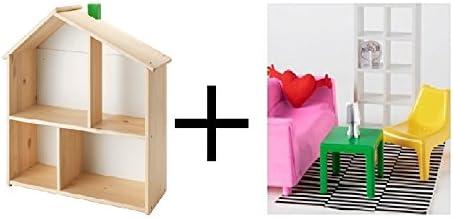 Dolls House Mahogany Magazine Paper Rack Side Table Living Room Furniture