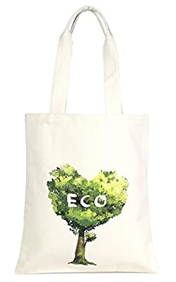Eco-Friendly Multi Purpose Fashion Printed 100% Cotton Canvas Beach Shoulder Tote Bag.