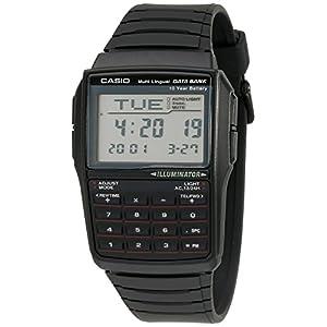 Casio Men's DBC32-1A Data Bank Black Digital Watch