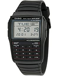 Men's DBC32-1A Data Bank Black Digital Watch