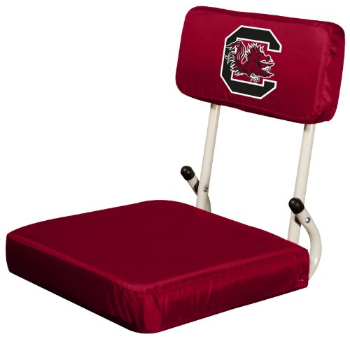 Logo Brands NCAA South Carolina Gamecocks Hard Back Stadium Seat Carolina Stadium Seat