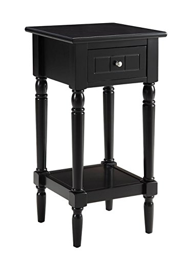 - Convenience Concepts French Country Khloe Accent Table, Black