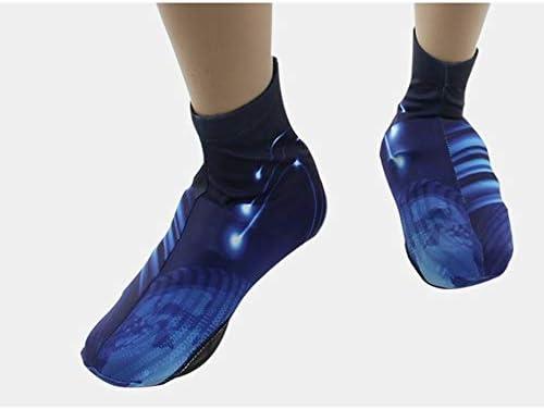 シューズカバー 男性と女性の屋外乗馬機器の防塵・乗馬靴カバー防風性と防水に適し 靴カバー レインカバー (Color : Blue, Size : XL)