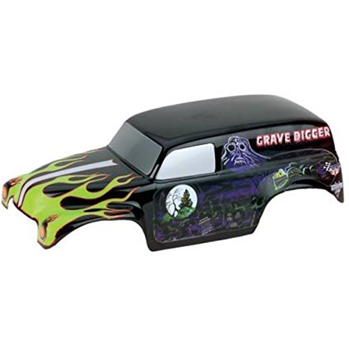 Grave Shell - Parma 10165P Painted Grave Digger Body with Decals