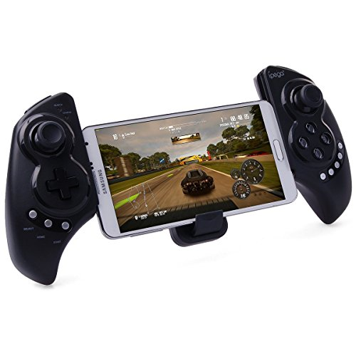 New Soul Coule Wireless Bluetooth 3.0 Game Controller Gamepad Joystick Touch Pad for Iphone 6 6 Plus 5s 5c 5 4s 4 3gs Ipad 5 4 3 Ipad Mini 1 2 Samsung Galaxy S5 S4 S3 S2 Note 3 2 1 Sony Xperia Z2 Z1 Z HTC One M7 M8 Lg Google Nexus and Other Smartphones and Tablects Pc with Android IOS System Ipega