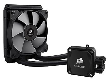 CORSAIR Hydro Series H60 AIO Liquid CPU Cooler, 120mm Radiator, 120mm Fan