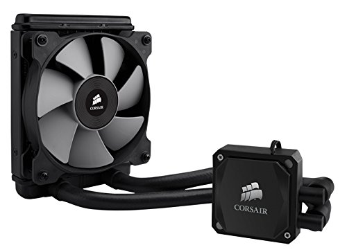 CORSAIR HYDRO SERIES H60 AIO Liquid CPU Cooler, 120mm Radiator, 120mm Fan