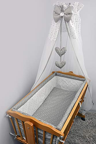 Crib All Round Padded Thick Bumper 260 cm 90x40 cm Crib Size Pattern 18