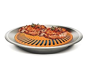 Gotham Steel Nonstick Smokeless Indoor Stove Top Grill BBQ – 2 PACK