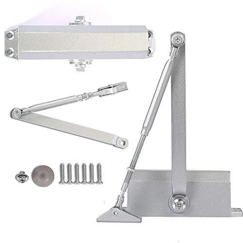 Door Closer Automatic Adjustable Mechanism Grade 3 Aluminum Alloy Hydraulic Door-Closer (1)