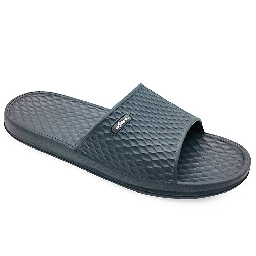 657eb42104f4 FUNKYMONKEY Bathroom Shower Sandal Mens Womens Indoor Home Beach Non Slip  Slippers