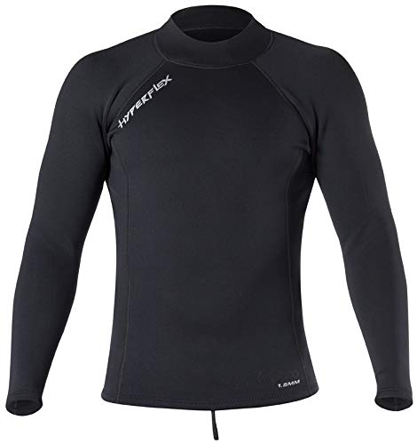 Hyperflex Wetsuits Men's Voodoo 1.5mm Pullover Jacket, Black, 3X-Large - Surfing, Windsurfing & Wakeboarding