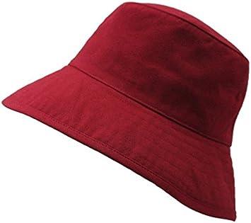 1 Pieza Turismo 60 cm algod/ón TREESTAR Sombrero de Pescador Monocromo de Doble Capa Unisex para Actividades al Aire Libre Azul Marino protecci/ón Solar