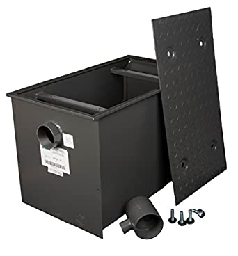 Amazon Com Wentworth 70 Pound Grease Trap Interceptor 35 Gpm