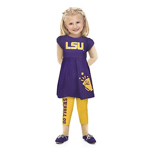 NCAA Lsu Tigers Infant Play Set, 0-3 Months, Purple