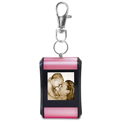- TAO 1.5 Digital Photo Key Chain Clip (Holds 100 Pictures) Pink